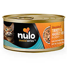 Nulo MedalSeries Cat & Kitten Food - Grain Free, Turkey & Halibut