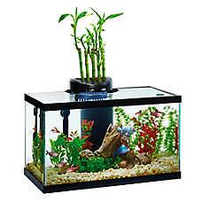 Elive® 10 Gallon AquaDuo LED Aquarium Kit