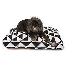 Majestic Pet Triangles Black Dog Bed