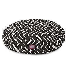 Majestic Pet Brushstrokes Black Dog Bed