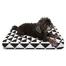 Majestic Pet Geometric Orthopedic Memory Foam Dog Bed