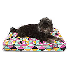 Majestic Pet Triangles Orthopedic Memory Foam Dog Bed