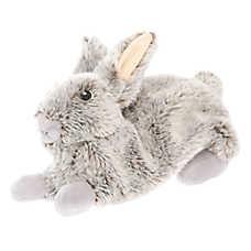 "Toys""R""Us® Realistic Rabbit Flattie Dog Toy - Crinkle, Plush"