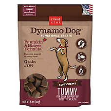 Cloud Star® Dynamo Dog® Tummy Dog Chew - Grain Free, Pumpkin & Ginger