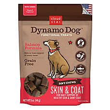 Cloud Star® Dynamo Dog® Skin & Coat Dog Chew - Grain Free, Salmon