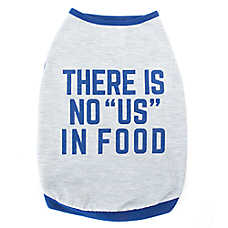 "Top Paw® ""There is No US in Food"" Dog Tank Top"