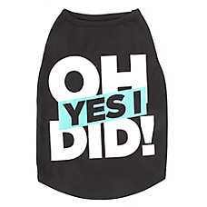 Top Paw® Oh Yes I Did! Dog Tank Top