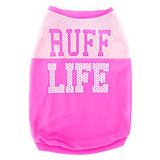 "Top Paw® ""Ruff Life"" Mesh Pet Tank"