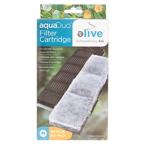Elive aquaduo filter cartridge fish filter media for Petsmart fish filters