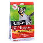 Nutri-Vet Hip & Joint Dog Treat - Natural, Grain Free