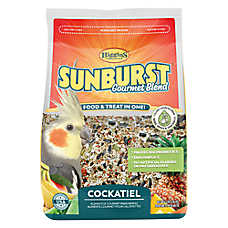 Higgins Sunburst Gourmet Blend Cockatiel Food