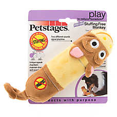 Petstages® Lil' Squeaker Monkey Dog Toy