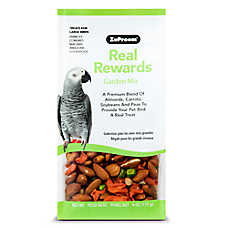 ZuPreem® Real Rewards Garden Mix Large Bird Treats
