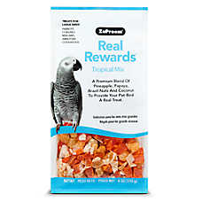 ZuPreem® Real Rewards Tropical Mix Large Bird Treats