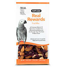 ZuPreem® Real Rewards Trail Mix Large Bird Treats