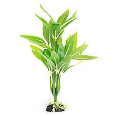 Top Fin® Realistic Green Leaf Base Aquarium Plant