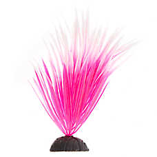Top Fin® Pink Spikey Artificial Aquairum Plant