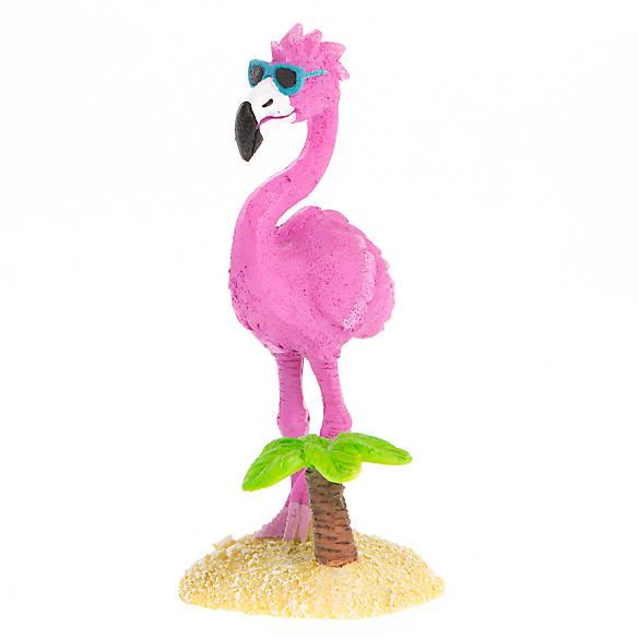 Top fin flamingo aquarium ornament fish ornaments for Petsmart fish decor