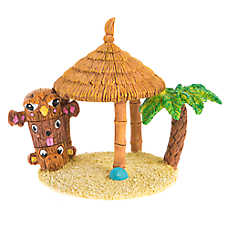 Top Fin® Tiki Hut Aquarium Ornament
