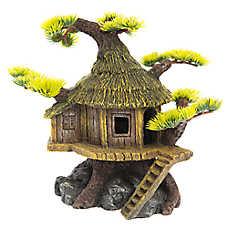 Top Fin® Asian Tree House Aquarium Ornament