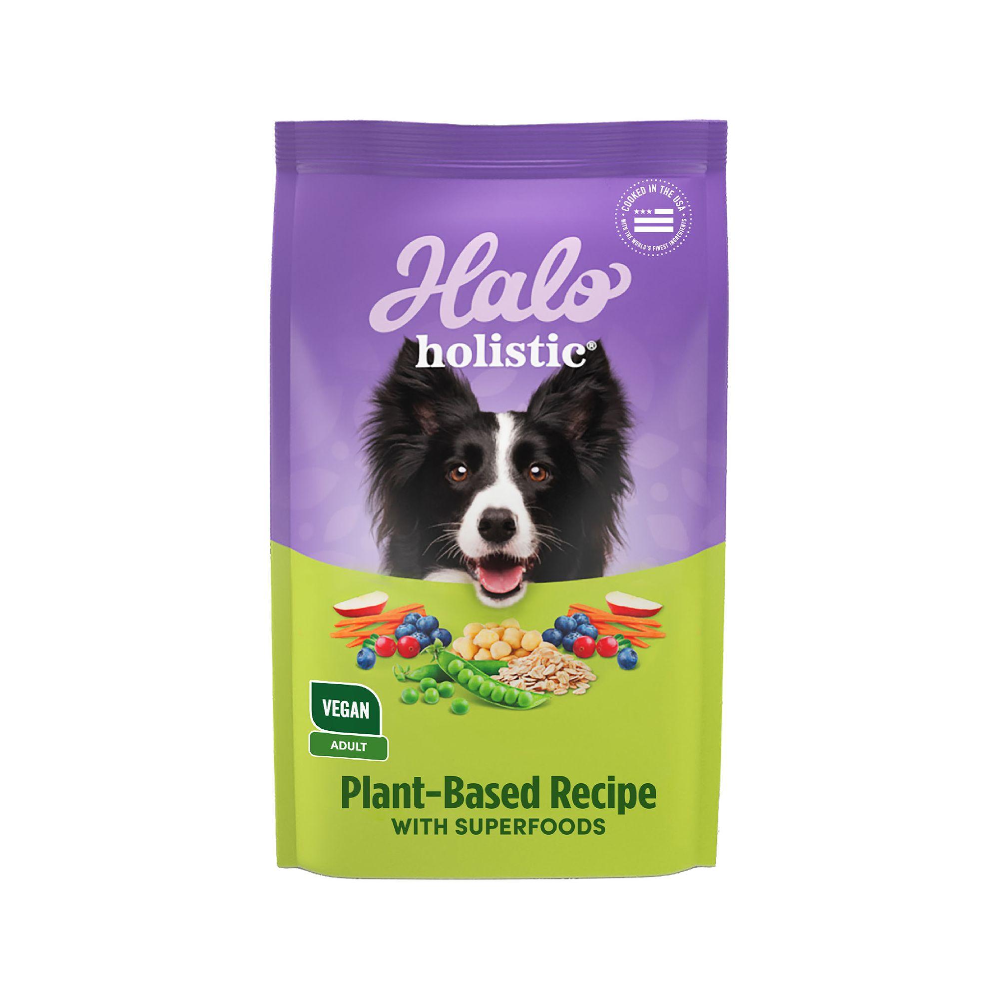 Halo Vegan Adult Dog Food Natural Holistic Garden Of Vegan Recipe