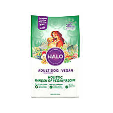 HALO® Vegan Adult Dog Food - Natural, Holistic Garden of Vegan Recipe
