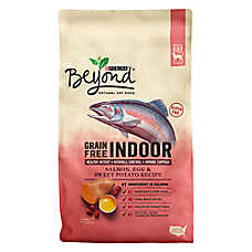 Purina® Beyond Natural Indoor Cat Food - Grain Free, Salmon, Egg & Sweet Potato