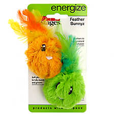 Petstages® Feather Bunnyz Cat Toys - 2 Pack