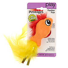 Petstages® Feather Fish Cat Toy