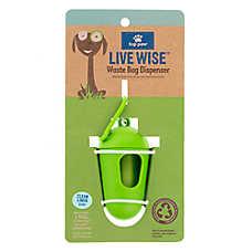Top Paw® Live Wise™ Clean Linen Scent Pet Waste Bag Dispenser