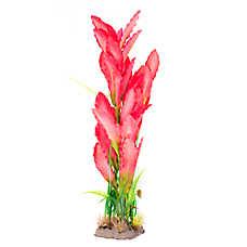 Top Fin® Fuschia Silk Artificial Aquairum Plant