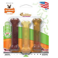 Nylabone® FlexiChew® Chew Dog Toys - 3 Pack