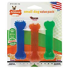 Nylabone® FlexiChew® Chew Dog Toy - 3 Pack