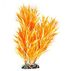 Top Fin® Orange Fire Artificial Aquarium Plant