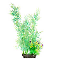 Top Fin® Green Bamboo Glow-in-the-Dark Aquarium Plant