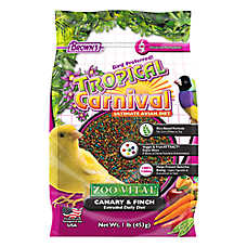 Brown's® Tropical Carnival® Zoo Vital Canary/Finch Bird Food