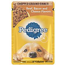PEDIGREE® Adult Dog Food - Beef, Bacon & Cheese