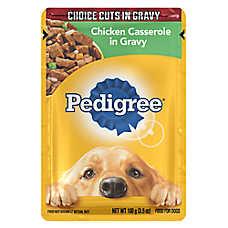 PEDIGREE® Dog Food - Choice Cuts in Gravy, Chicken Casserole