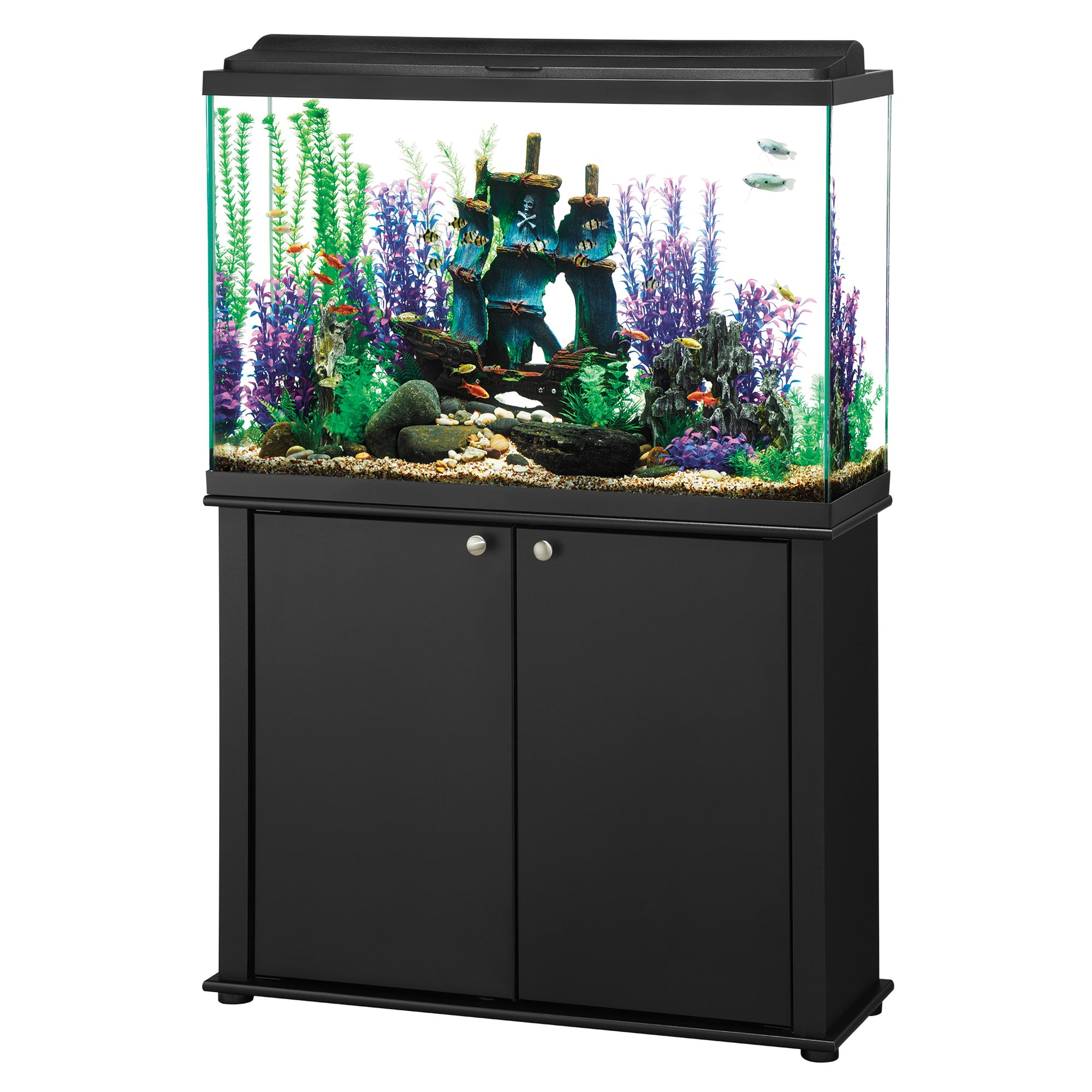 Aqueon 45 Gallon LED Aquarium Ensemble