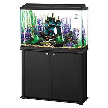 how to move a 45 gallon fish tank