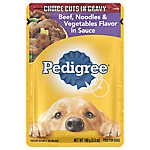 PEDIGREE® Adult Dog Food - Beef, Noodles & Vegetables