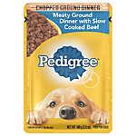 PEDIGREE® Adult Dog Food - Meaty Ground Dinner w/ Beef