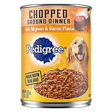 PEDIGREE® Adult Dog Food - Filet Mignon & Bacon