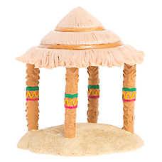 All Living Things® Tiki Hut Terrarium Ornament