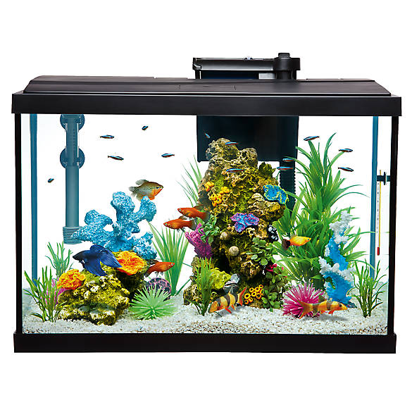 Top fin essentials aquarium starter kit fish starter for 55 gallon fish tank starter kit