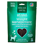 Get Naked Weight Management Small Dog Dental Treat - Natural, Grain Free, Chicken