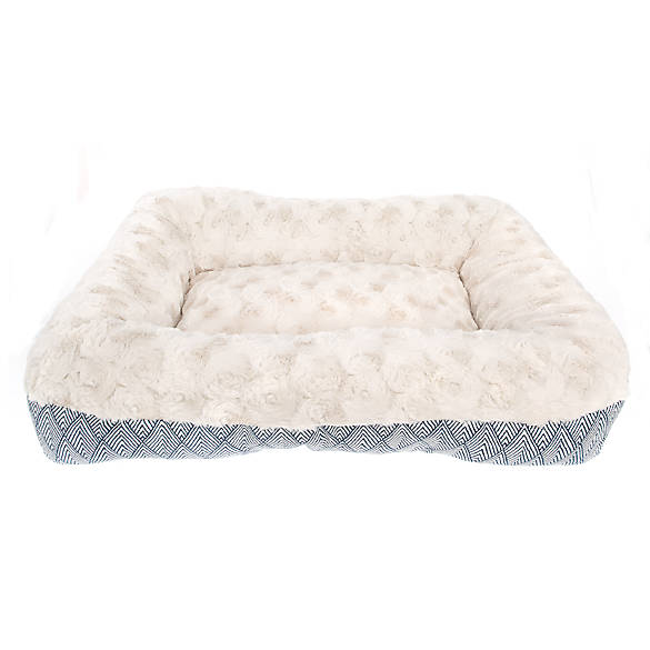 Top Paw Orthopedic Fashion Bolster Bed