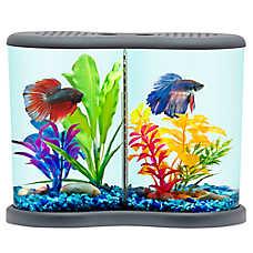 Top Fin® Divide Betta Desk Aquarium