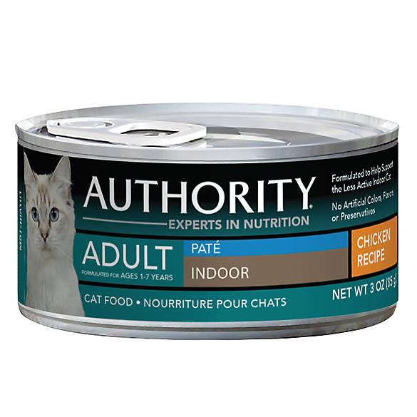 Authority Cat Food Wet