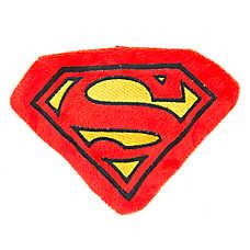 DC Comics™ Superman Flattie Dog Toy - Crinkle, Squeaker